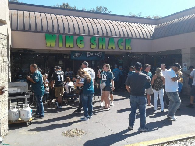 Wing Shack Watch Party